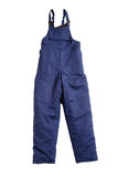 Pantalon bleu photographie stock