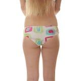 pantalon coloré de fille de beauté Photo libre de droits