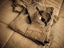 Pantalon d'armée Images stock