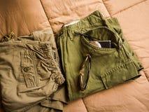 Pantalon d'armée Photos libres de droits