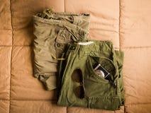 Pantalon d'armée Photo libre de droits