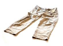 Pantalon froissé 0017 Image libre de droits