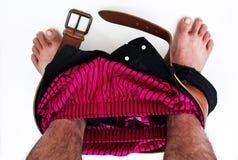 Pantalon hors fonction. Photographie stock