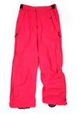 Pantalon rose de ski Photographie stock