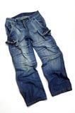 Pantalone del Jean Fotografia Stock Libera da Diritti