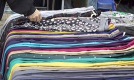 Pantalones coloridos Imágenes de archivo libres de regalías