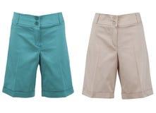 Pantalones cortos Imagen de archivo libre de regalías
