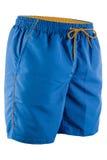 Pantalones cortos azules de los hombres para nadar Fotos de archivo