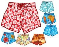 Pantalones cortos de la nadada Fotos de archivo