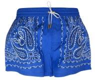 Pantalones cortos de la natación Fotos de archivo