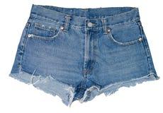 Pantalones cortos de los vaqueros fotos de archivo