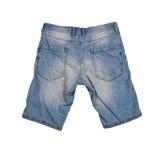 Pantalones cortos de los vaqueros Foto de archivo