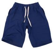 Pantalones cortos del deporte Aislado en el fondo blanco foto de archivo libre de regalías