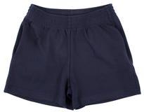 Pantalones cortos del deporte Aislado en el fondo blanco imagen de archivo libre de regalías