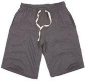 Pantalones cortos del deporte. Aislado en un blanco imagen de archivo