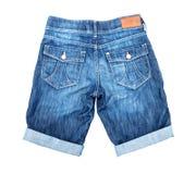 Pantalones cortos del dril de algodón Imagen de archivo