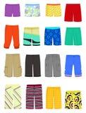 Pantalones cortos masculinos Foto de archivo