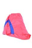 Pantalones cortos rojos de los deportes Imagen de archivo