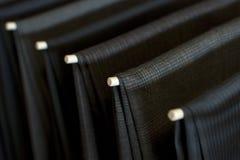 Pantalones de la alineada Fotografía de archivo libre de regalías