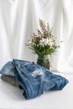 Pantalones de la diversos ropa y accesorios para los hombres Imágenes de archivo libres de regalías
