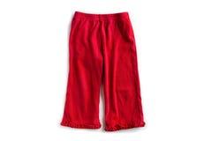 Pantalones de la ropa del bebé Imagen de archivo