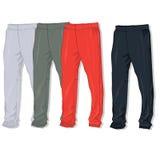 Pantalones de los pantalones del deporte ilustración del vector