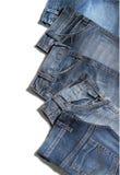 Pantalones de los pantalones vaqueros Imagen de archivo