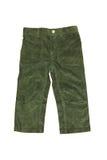 Pantalones de terciopelo Foto de archivo libre de regalías