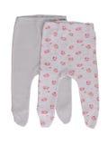 Pantalones del bebé Fotografía de archivo libre de regalías