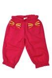 Pantalones para el bebé Fotos de archivo libres de regalías