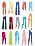 Pantalones para mujer Imagen de archivo libre de regalías