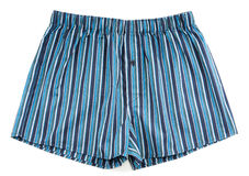 Pantalones rayados de los hombres Imagenes de archivo