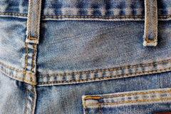Pantalones vaqueros foto de archivo libre de regalías