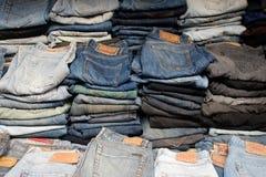 Pantalones vaqueros Imagen de archivo libre de regalías