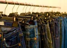Pantalones vaqueros Fotos de archivo libres de regalías