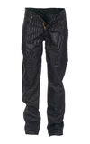 Pantalones vaqueros aislados Fotografía de archivo libre de regalías