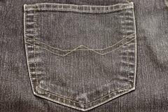 Pantalones vaqueros con el bolsillo fotografía de archivo