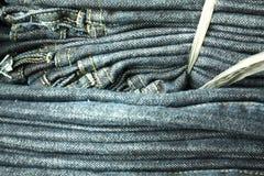 Pantalones vaqueros de Binded Fotos de archivo