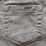 Pantalones vaqueros del bolsillo Imagenes de archivo