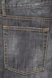 Pantalones vaqueros del dril de algodón Fotografía de archivo libre de regalías
