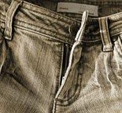 Pantalones vaqueros pasados de moda imágenes de archivo libres de regalías