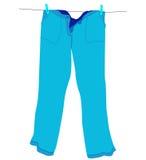 Pantaloni illustrazione di stock