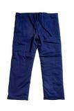 Pantaloni blu Fotografia Stock