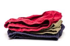 Pantaloni colorati differenti di Amalgamted Immagini Stock