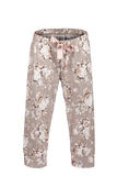 Pantaloni con la stampa floreale fotografia stock libera da diritti