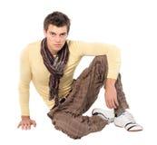 Pantaloni degli uomini di modo, una camicia Immagine Stock Libera da Diritti