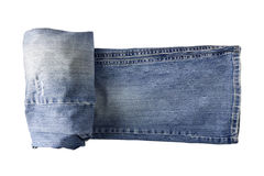 Pantaloni dei jeans Fotografie Stock