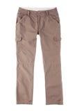 Pantaloni del Brown Immagini Stock