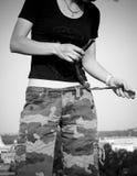 Pantaloni del camuffamento Fotografia Stock Libera da Diritti