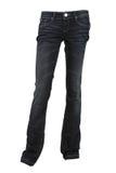 Pantaloni del denim Fotografia Stock
